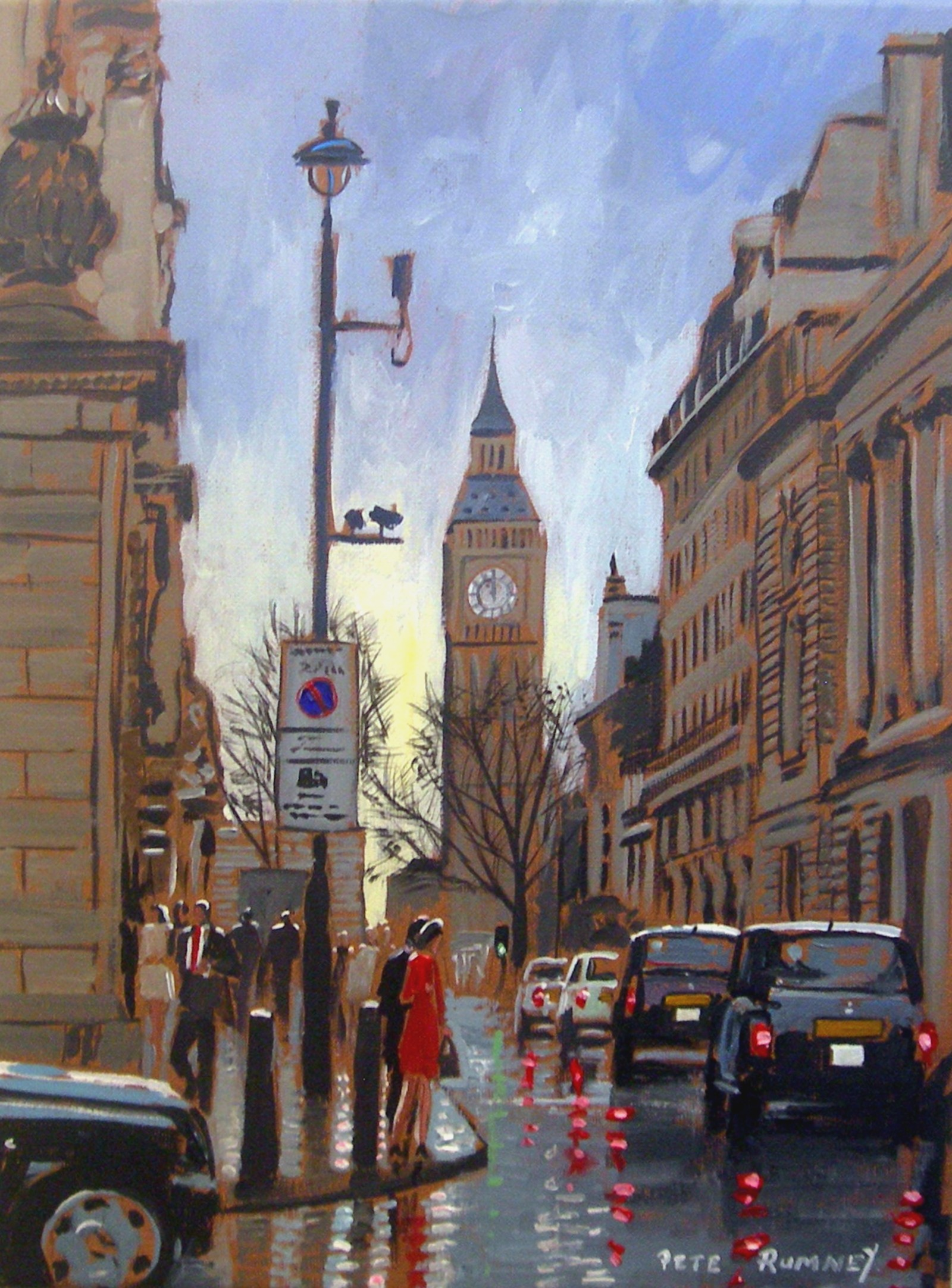 Canvas Paintings and Art by Pete Rumney