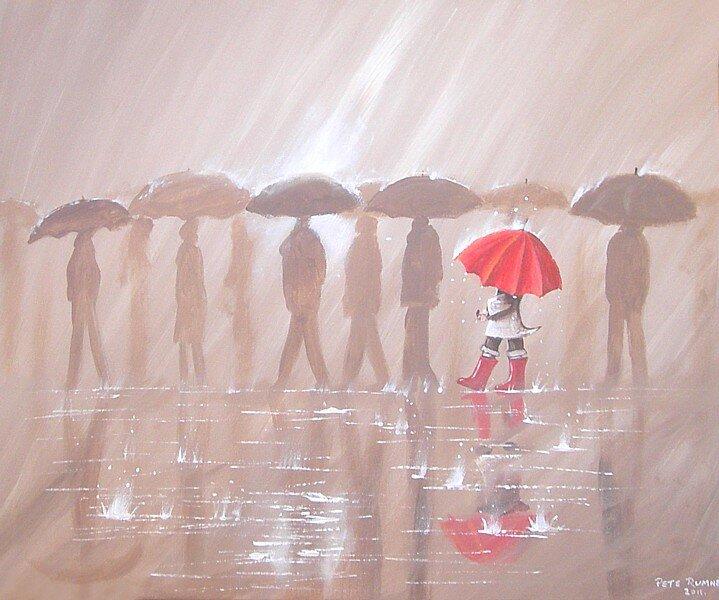 Umbrellas style=